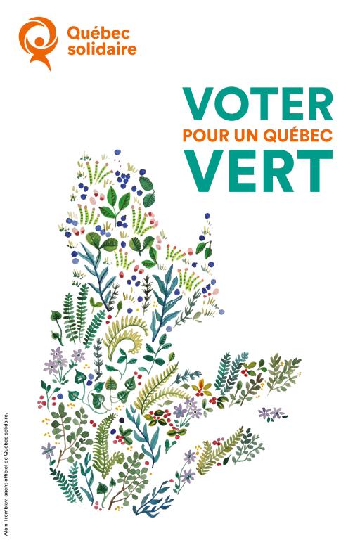 Voter pour un Québec vert