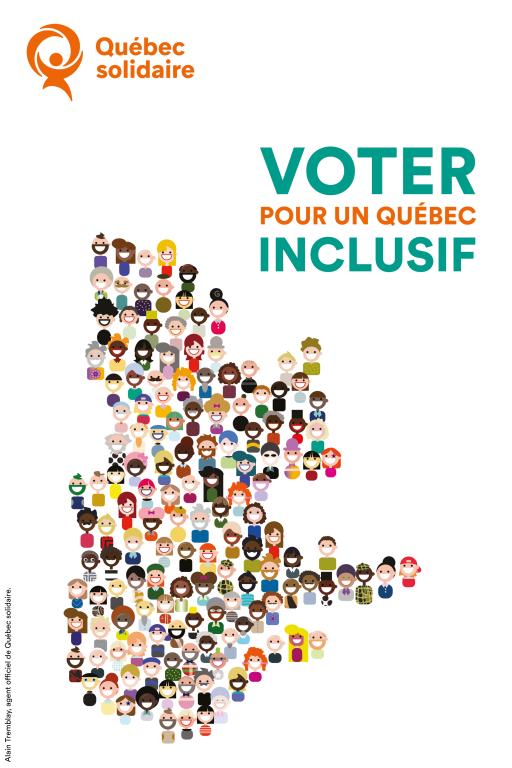 Voter pour un Québec inclusif